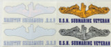 """Dolphin Decal, sticker, 11"""" outside stick"""