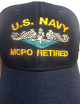 BALL  CAP, US NAVY MCPO