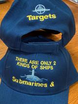 Submarine & Targets ball cap