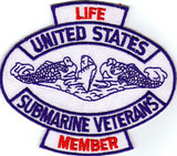 USSVI Life Member PATCH