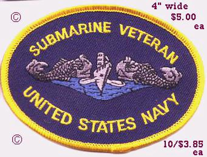 Submarine Veteran patch