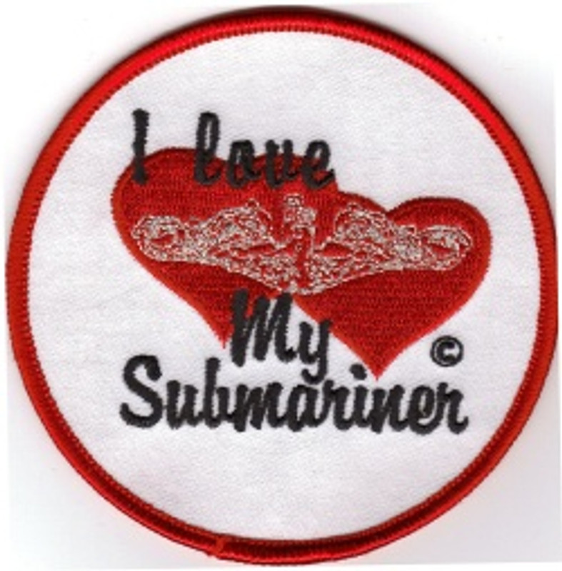 I Love My Submariner PATCH