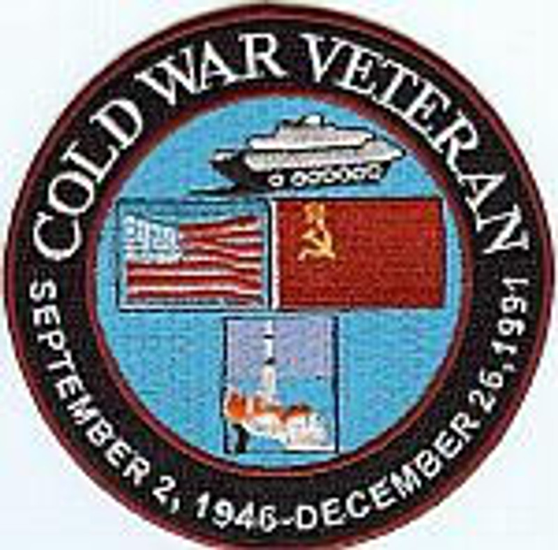 Cold War Veteran Patch.