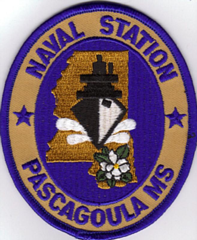 Pascagoula Naval Shipyard patch