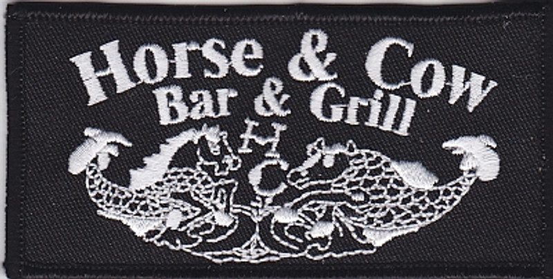 Submarine Famous Horse and Cow Bar & Grill patch