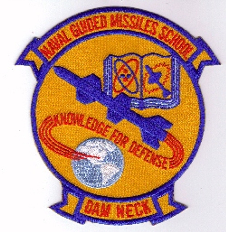 Naval Guided Missile School Dam Neck patch