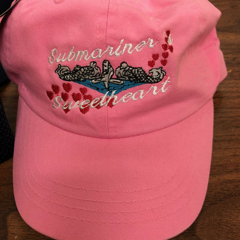 Submariner Sweetheart Design Pink ball cap