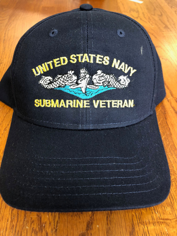 Ballcap, Navy United States Navy Submarine Veteran Silver Dolphins