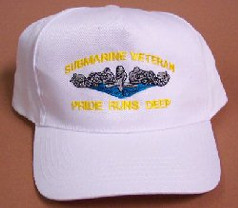 Submarine Veteran: Pride Runs Deep Ballcaps