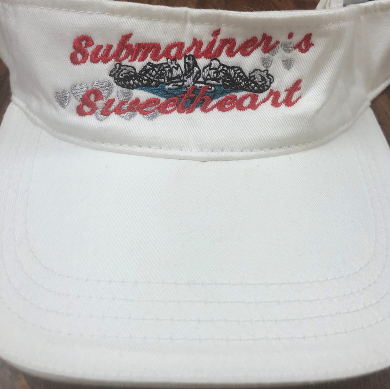Visor, Submariner Sweetheart white