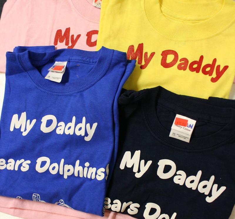 Dad's Qualified Children's Shirts