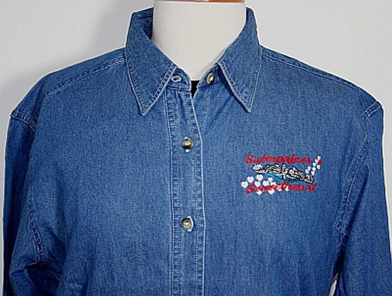 Denim Shirts: Submariner's Sweetheart