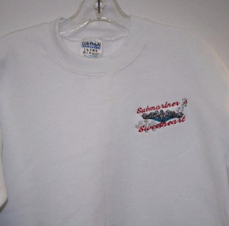 Sweatshirts: Submariner's Sweetheart