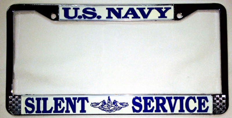 U.S. Navy Silent Service License Plate Frame