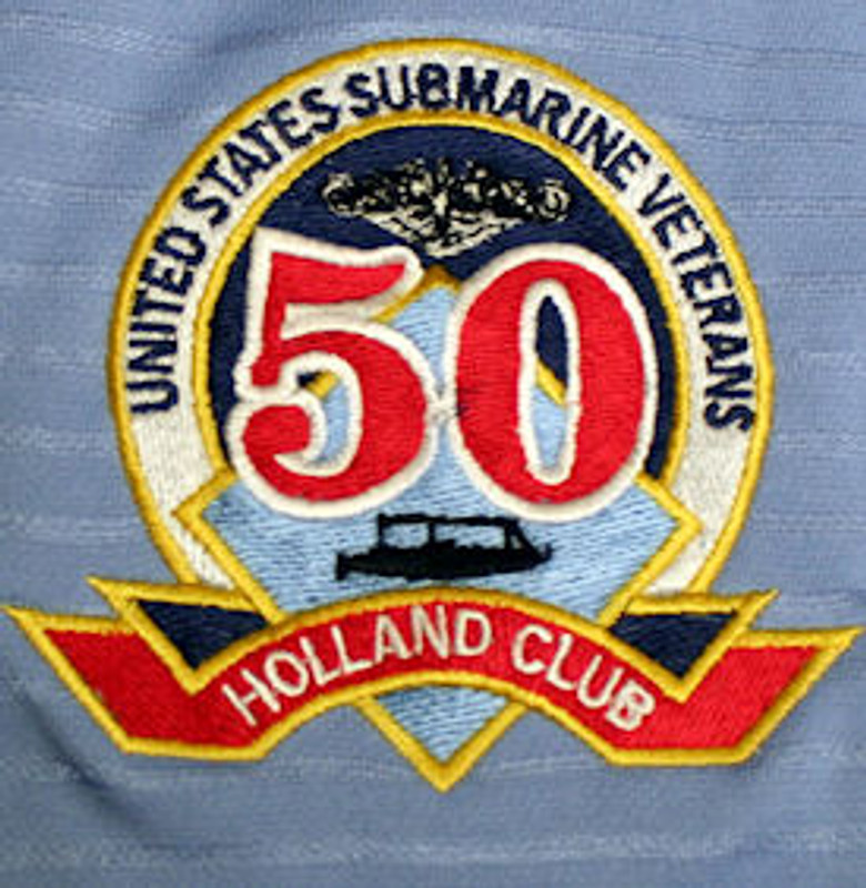 Picture of the Holland club embroidery