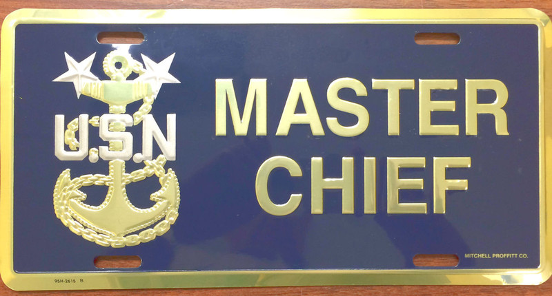 Master Chief License Plate