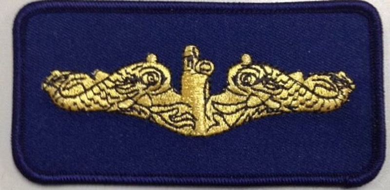 Dolphins Patch-Gold