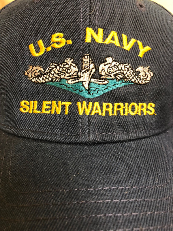 U.S. NAVY SILENT WARRIORS BALL CAP