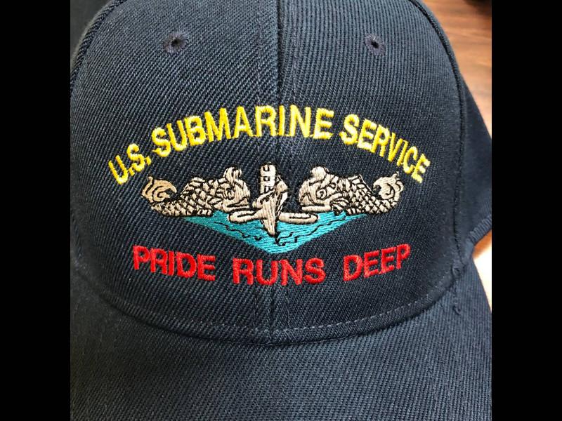 U.S. SUBMARINE SERVICE DOLPHINS PRIDE RUNS DEEP