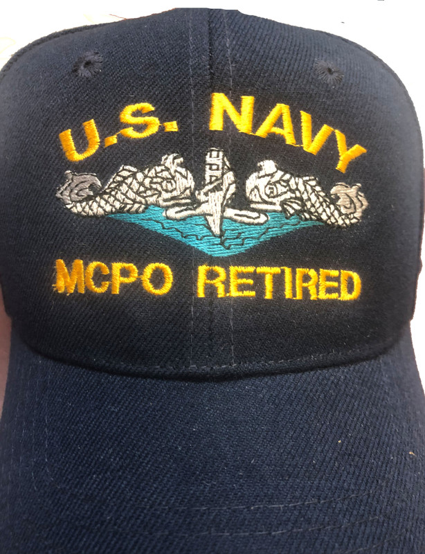 BALL  CAP, US NAVY MCPO