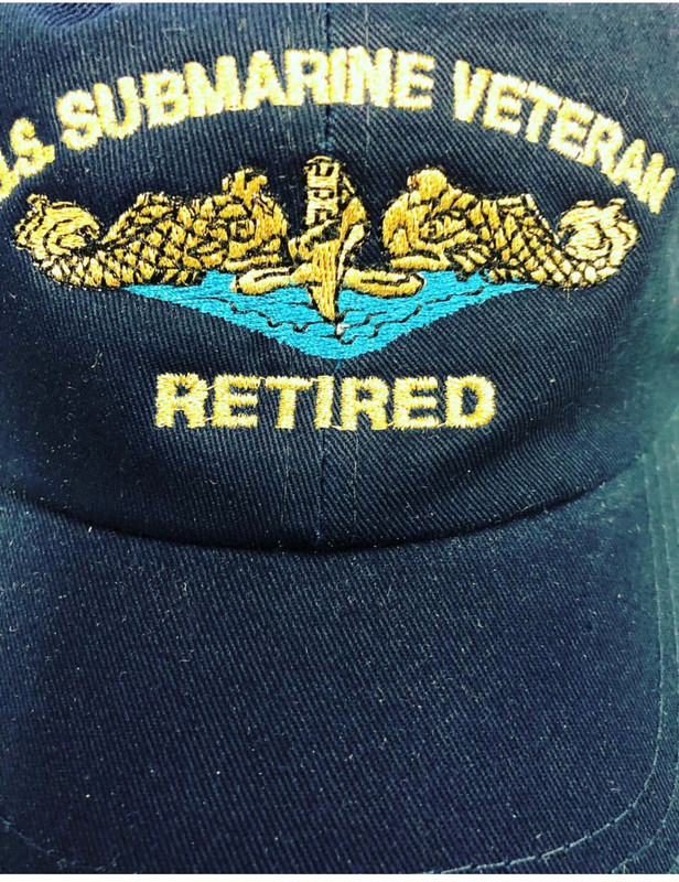 U.S. SUBMARINE VETERAN -RETIRED