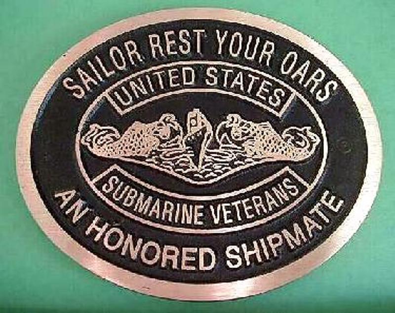 Honored Shipmate Memorial Marker & Grave Marker