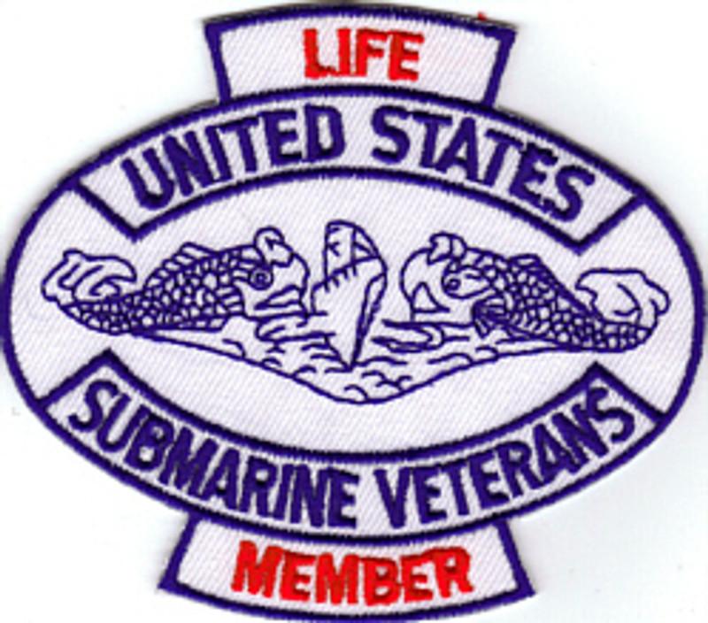 USSVI Life Member PATCH