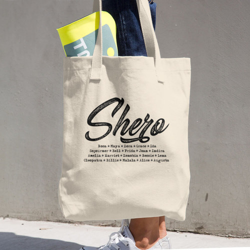 Shero Cotton Tote Bag