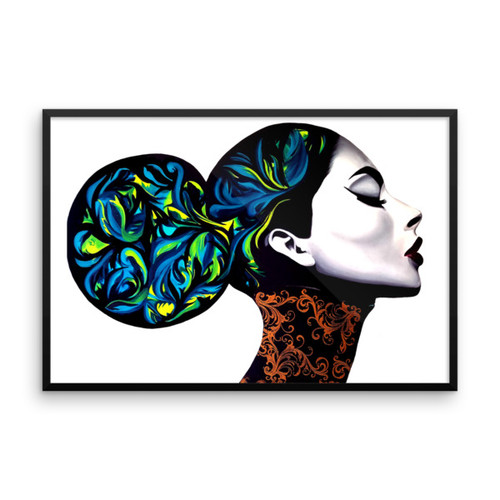 Beautiful Khaos Framed Photo Paper Poster (large)