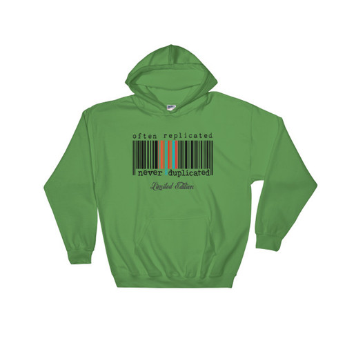 Often Replicated Never Duplicated Limited Edition II Hooded Sweatshirt