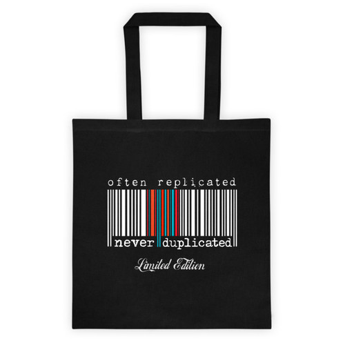 Often Replicated Never Duplicated Limited Edition III Tote bag