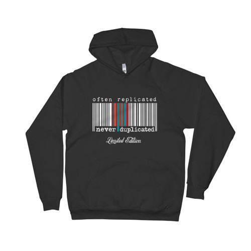 Often Replicated Never Duplicated Limited Edition III Unisex Fleece Hoodie