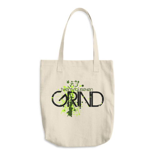 24/7 GRIND Cotton Tote Bag