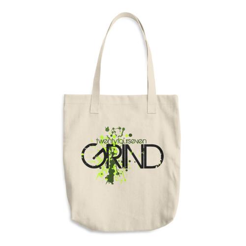 24/7 GRIND Cotton Tote Bag