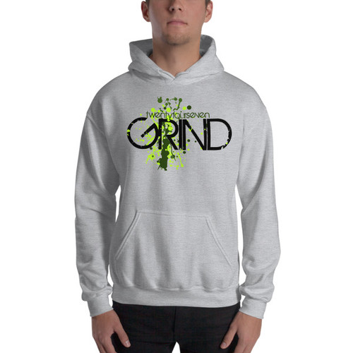 24/7 GRIND Hooded Unisex Sweatshirt