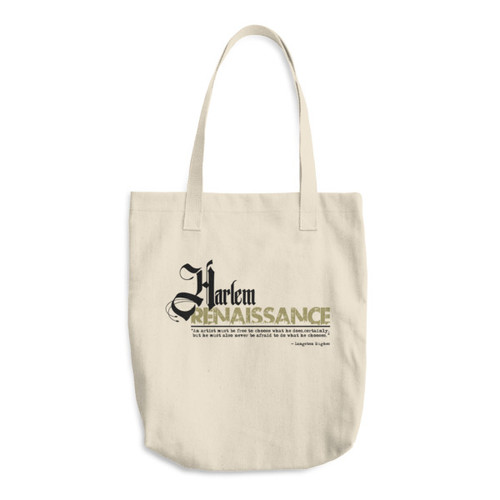 Harlem Renaissance Cotton Tote Bag