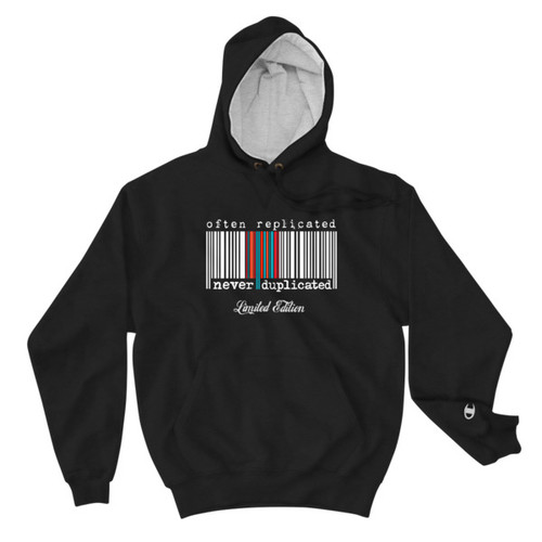Often Replicated Never Duplicated Limited Edition Unisex Hoodie