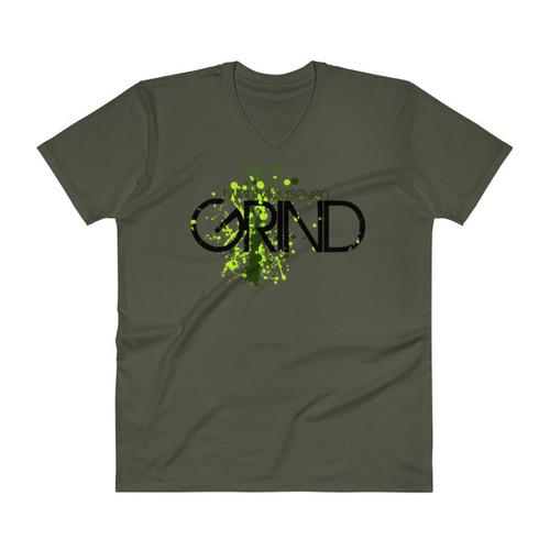 24/7 GRIND V-Neck Unisex T-Shirt