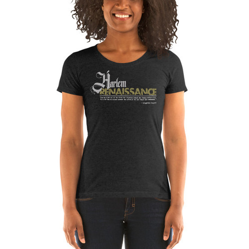 Harlem Renaissance Ladies' Short Sleeve T-shirt