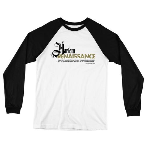Harlem Renaissance Long Sleeve Baseball T-Shirt