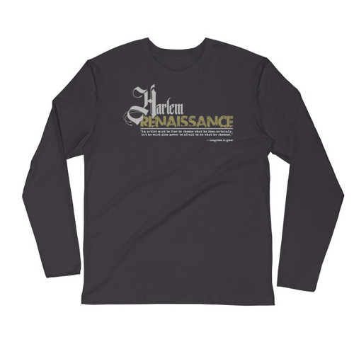 Harlem Renaissance ii Long Sleeve Fitted Crew
