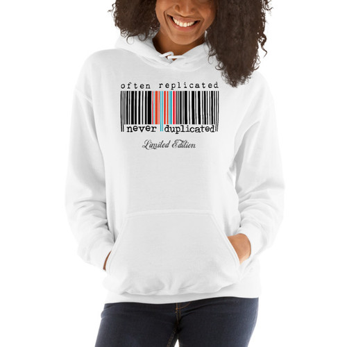 Often Replicated Never Duplicated L.E. Hooded Sweatshirt