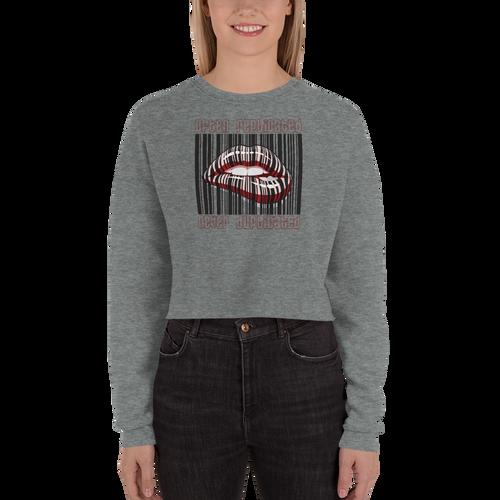 Never Duplicated 2.0 Crop Sweatshirt