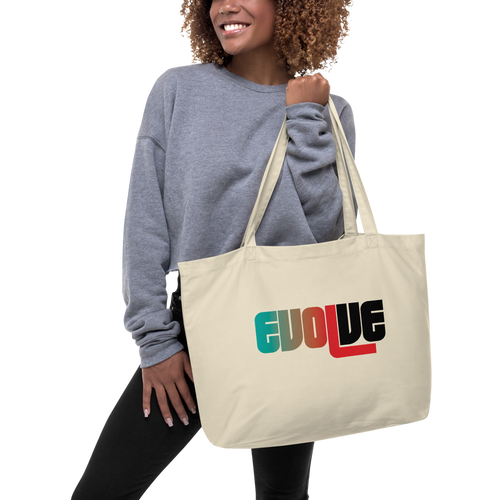 EVOLVE Large Organic Tote Bag