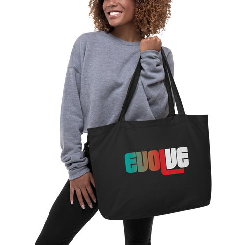 EVOLVE II Large Organic Tote Bag