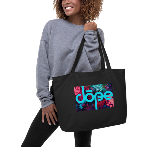 Dope Large Organic Tote Bag