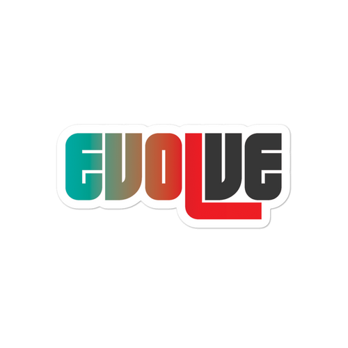 EVOLVE II Bubble Stickers