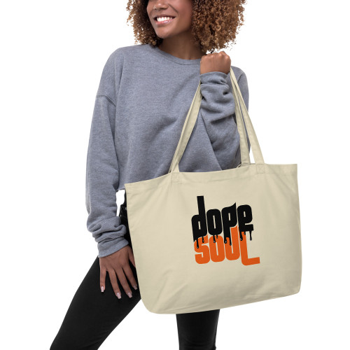 Dope Soul Large Organic Tote Bag