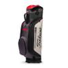 Titleist Club 7 Cart Bag - Granite / Black / Red