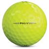 Titleist Personalized Pro V1 Yellow Dozen Golf Balls